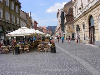 Centrul Vechi Brasov Romania,