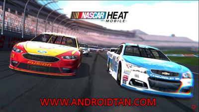 NASCAR Heat Mobile Mod Apk + Data v1.2.1 Unlimited Money Terbaru 2017