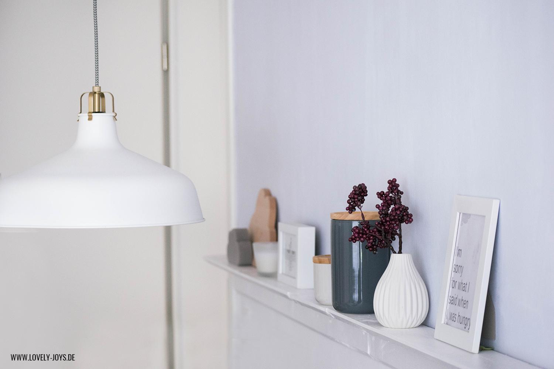 Esstisch Lampe Weiß skandinavisch interior