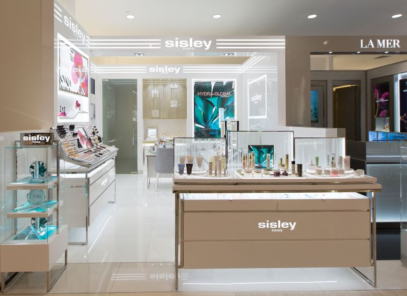 takashimaya sisley new counter phyto aromatic facial treatments