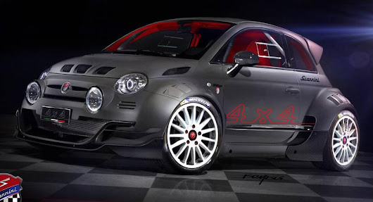 Giannini 350 GP4 Is A Fiat 500 On Steroids