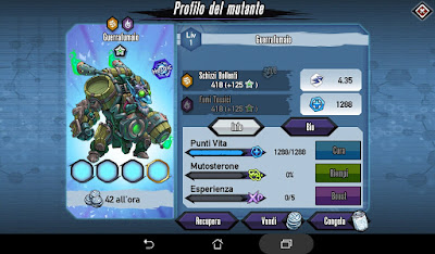 Mutants: Genetic Gladiators Breeding video N°443 (Steam Warlord - Robot # Guerrafumaio - Robot)
