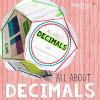 all about decimals - dodecahedron project