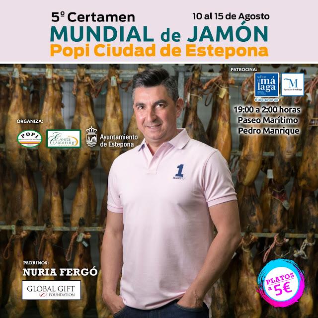 V Certamen Mundial de Jamón en Estepona