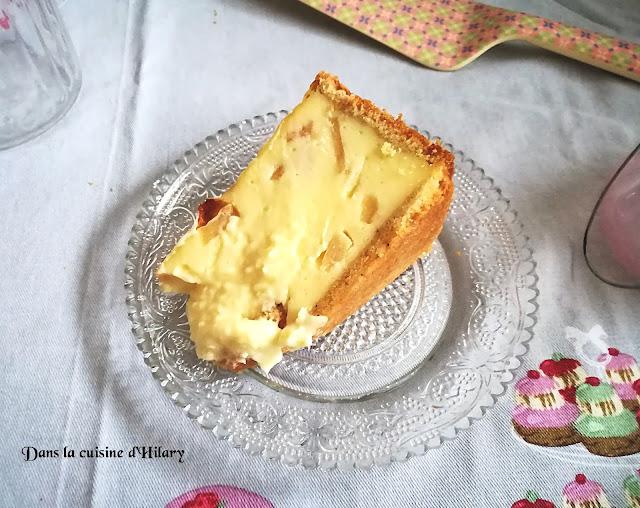 Flan pâtissier aux pommes et saveur spéculoos - Dans la cuisine d'Hilary