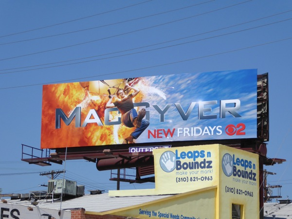 MacGyver 2016 series remake billboard