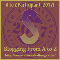 Shades of Me! #AtoZChallenge