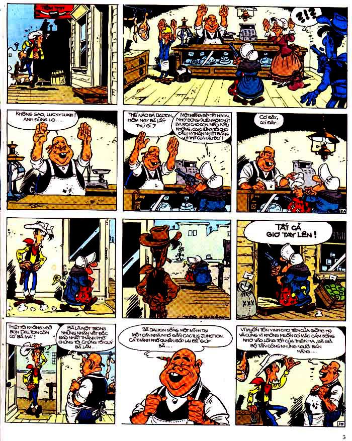 Lucky Luke tap 15 - ma dalton trang 6