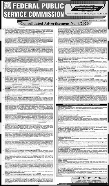 fpsc-Secondary-school-teacher-sst-jobs-2020