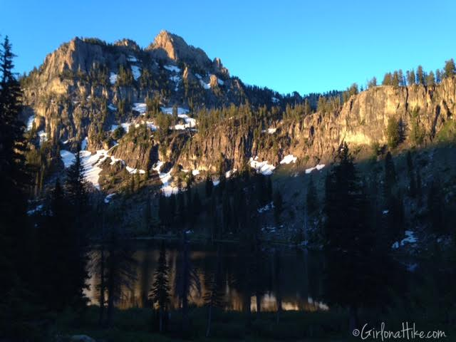Backpacking to White Pine Lake, Logan Canyon, Utah