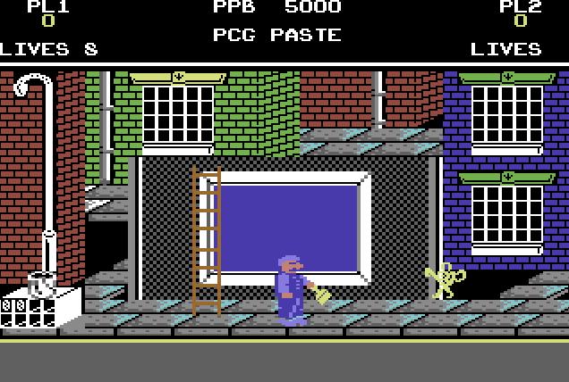 VGJUNK: POSTER PASTER (COMMODORE 64)