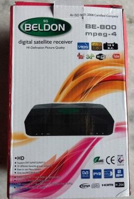 sgBELDON BE-800 DVB-S2 MPEG-4 FullHD Digital Satellite Receiver