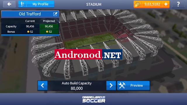 DLS 17 Mod Manchester United Apk+Data Obb by Damar Maulana