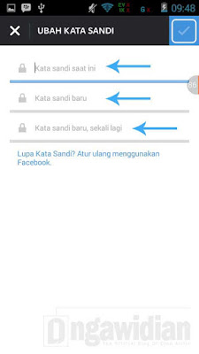 Cara Mengganti Email Dan Password Instagram di Android