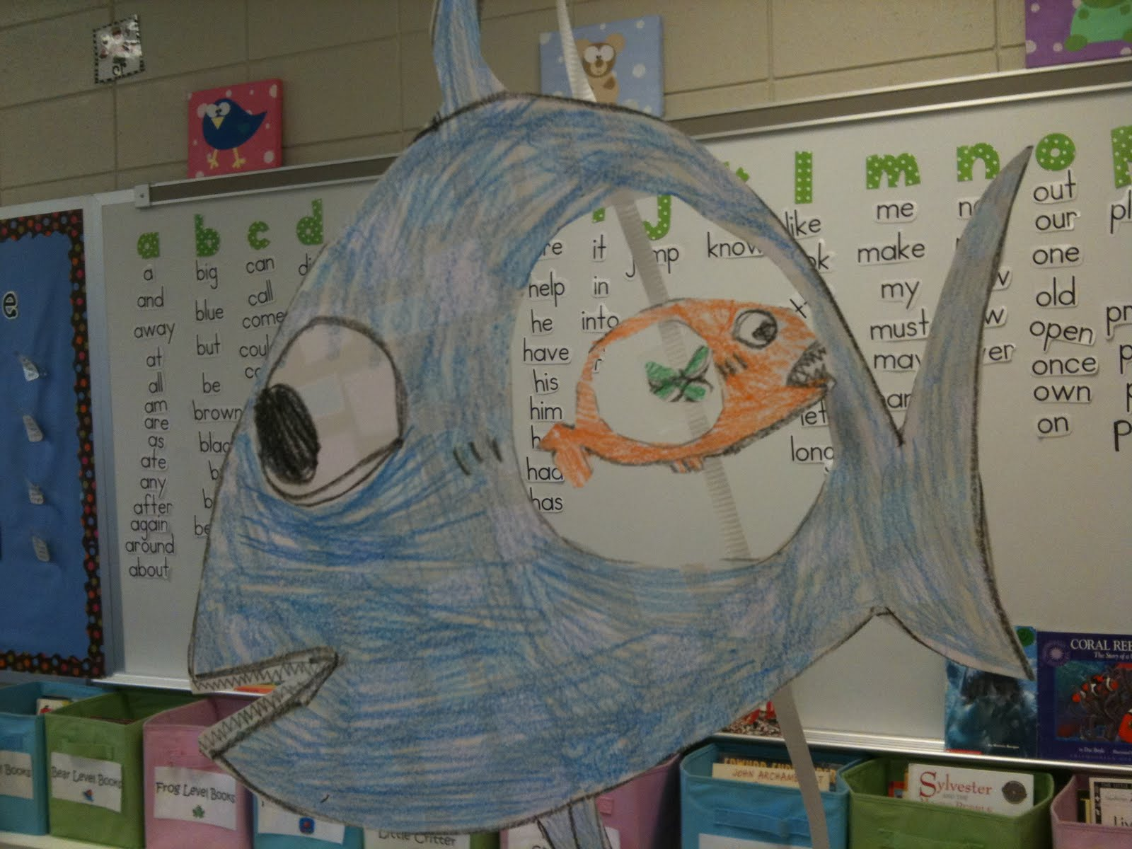 First Grader Last Ocean Food Chains
