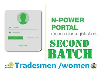 NPower 2nd Batch Registration & Login Portal (Shortlisted Candidates)