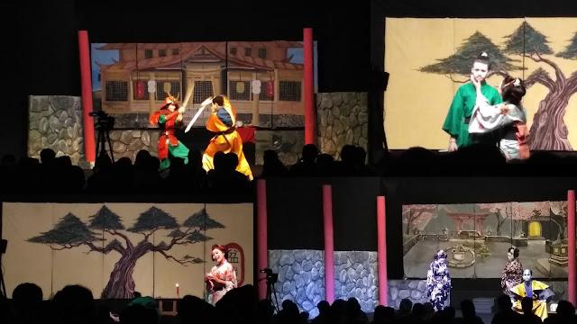 Teater Getar Tampilkan Suasana Jepang dalam Budaya Indonesia