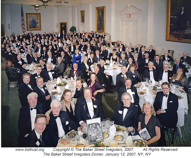 The 2007 BSI Dinner group photo
