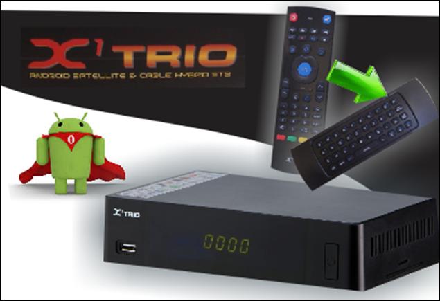 TRIO - X1 TRIO ANDROID NOVA ATUALIZAÇÃO - 02/08/2017