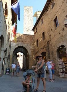 San Gimignano, Via de San Matteo.