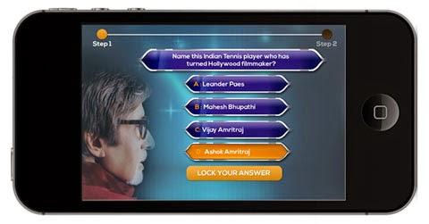KBC Registration by Mobile application