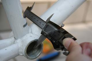 フレーム幅を測定