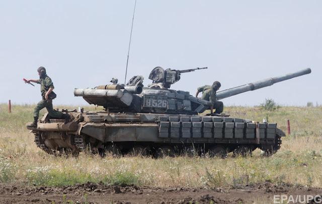 Бойовики продовжують приховано зосереджувати військову техніку на Донбасі