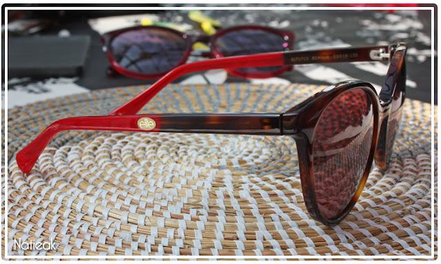 lunettes de soleil écaille marron d'Elite pour Optic 2000