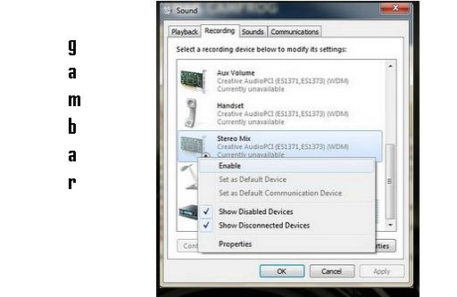 how to set up a mic in windows 7