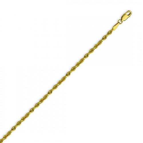3015233c772f8 How to Pick the Perfect Solid Gold Rope Chain Necklace | PriceRock ...