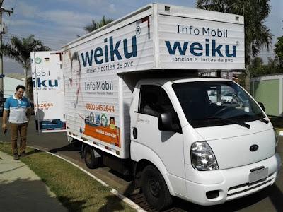 Douglas Moreto é promotor de vendas da Weiku no estado de São Paulo.