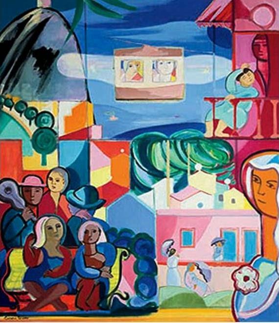 Rio de Janeiro - Cícero Dias e suas principais pinturas ~ Pintor pernambucano