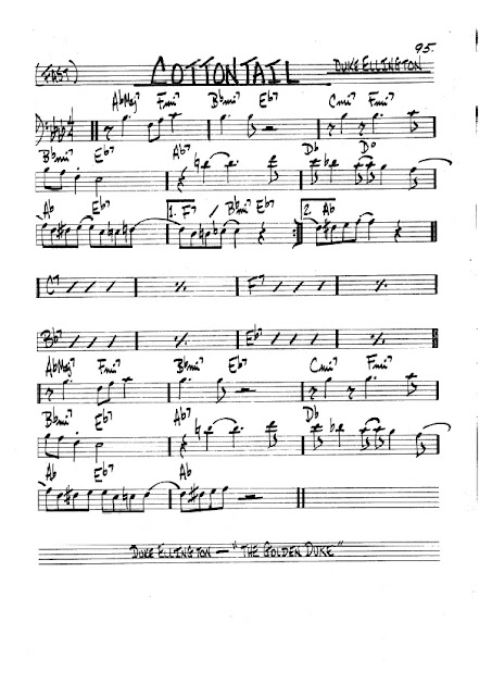 Partitura Violonchelo Duke Ellington