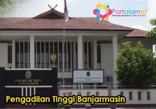 Alamat Pengadilan Tinggi Banjarmasin
