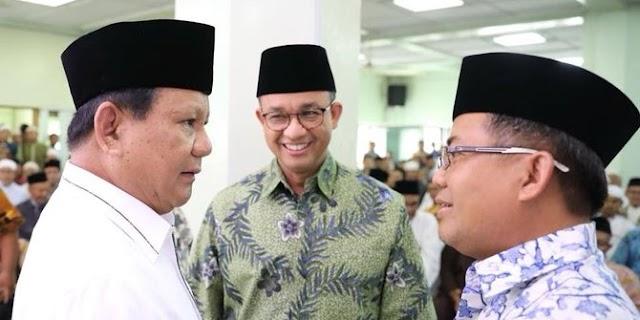97% Anies-AHY Dipastikan Lawan Jokowi di Pilpres 2019