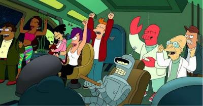 20 años de Futurama
