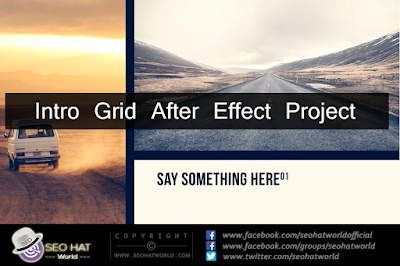 Download Intro Grid After Effects Project Free