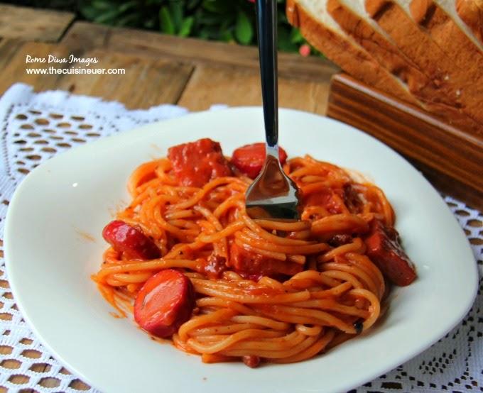 Pinoy-Style Sweet Spaghetti Recipe