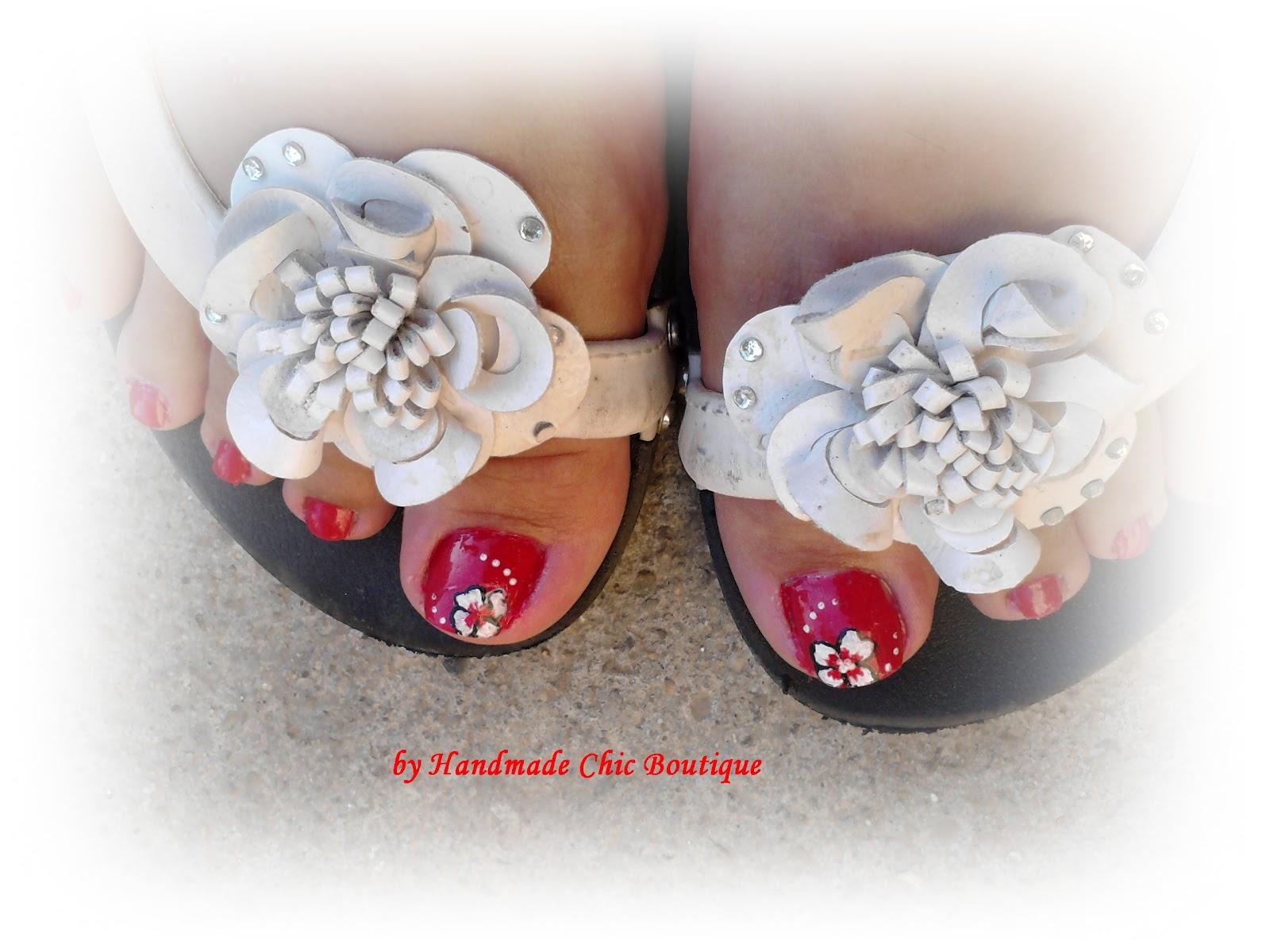 Handmade Chic Boutique Manichiura Pedichiura Unghii Scurte