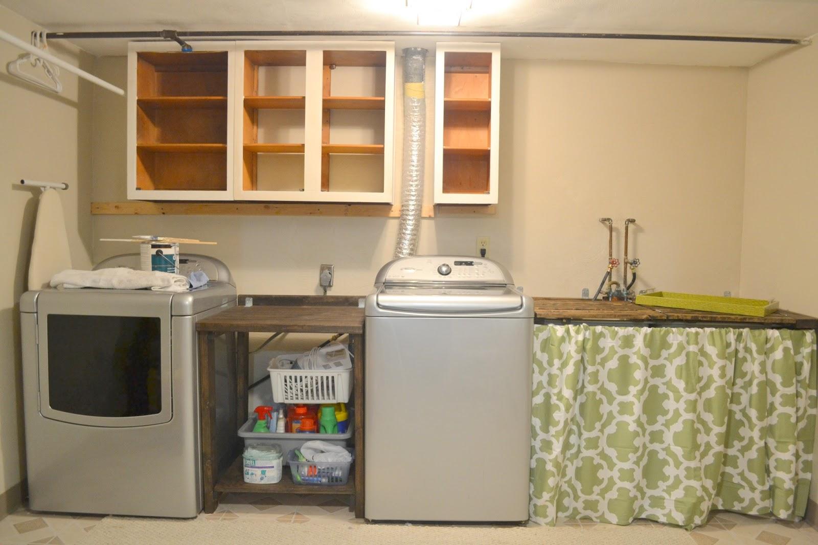 Make It Mommy Laundry Room Makeover Pt 3 Installing