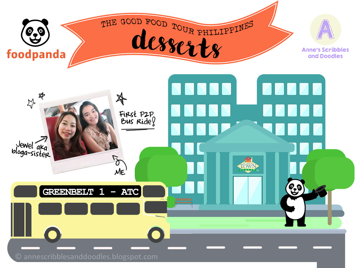 Foodpanda's The Good Food Tour: Desserts Edition | Anne's Scribbles and Doodles