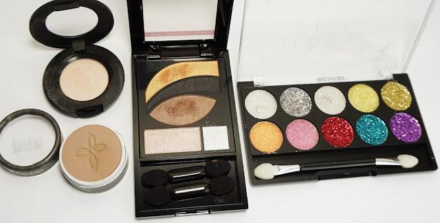 Nachgeschminkt - Januar 2016 (Golden Glitter) Look, Make-up