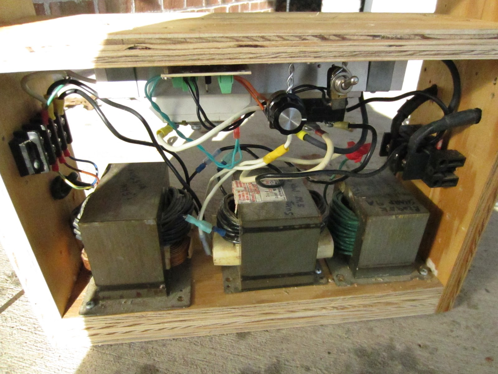 DIY 110 V Portable Arc Welder - with DC!