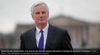 Le négociateur en chef de l'UE sur le Brexit Michel Barnier