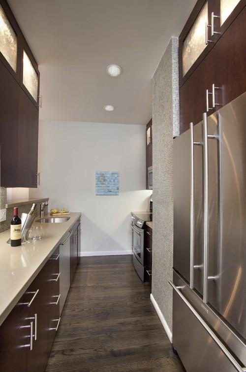 Cozinha pequena 40 idias de como usar as paredes para