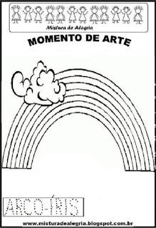 Projeto Pátria, desenho de arco-íris