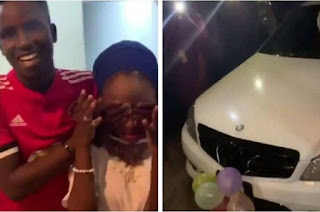 19 Year Old Student Buys A Benz And iPhone X Max For His 16 Year Old Girlfriend