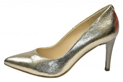 złote szpilki szpilki metaliczne najmodniejsze buty ślubne 2016 netstylistka