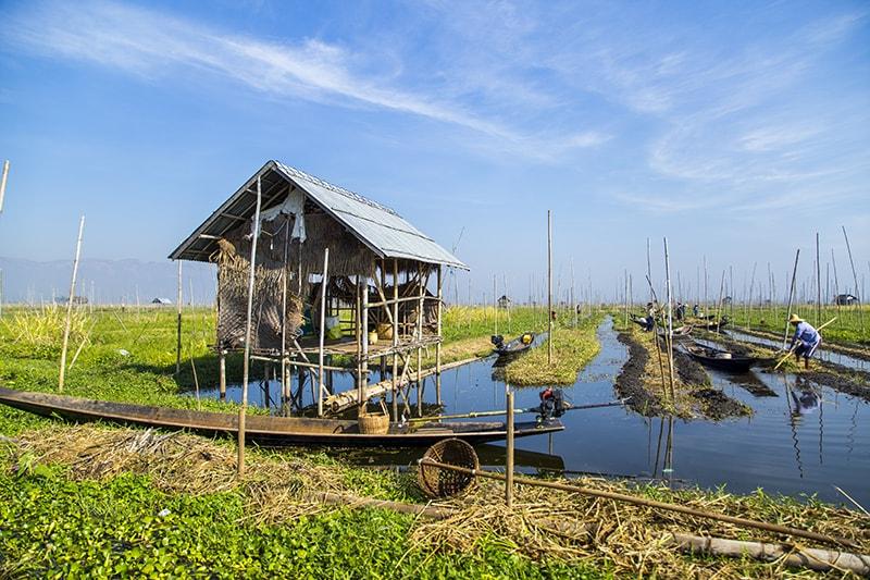 Đến hồ Inle ngắm bình minh đẹp nhất Myanmar