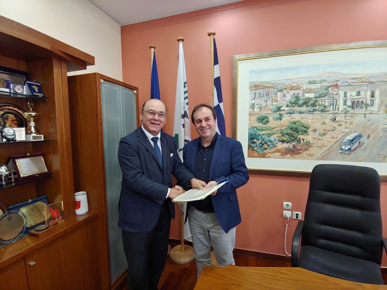 Συνεργασία του Ελληνοϊταλικού Επιμελητηρίου και του Επιμελητηρίου Λάρισας